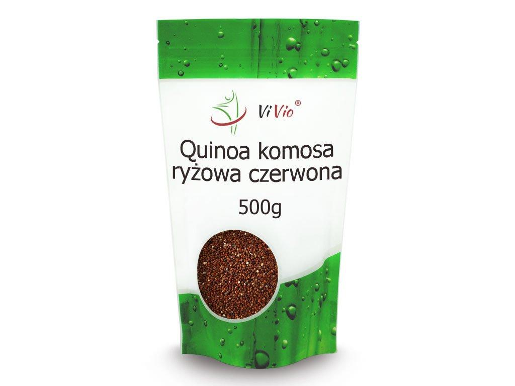 Komosa ryżowa czerwona, quinoa czerwona cena, zastosowanie