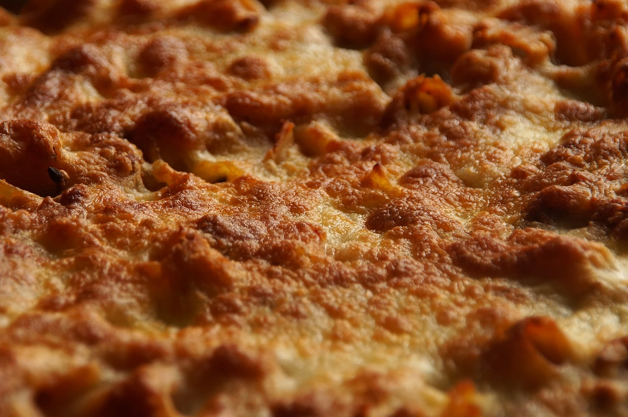 Szybka zapiekanka makaronowa z dodatkiem przyprawy do spaghetti