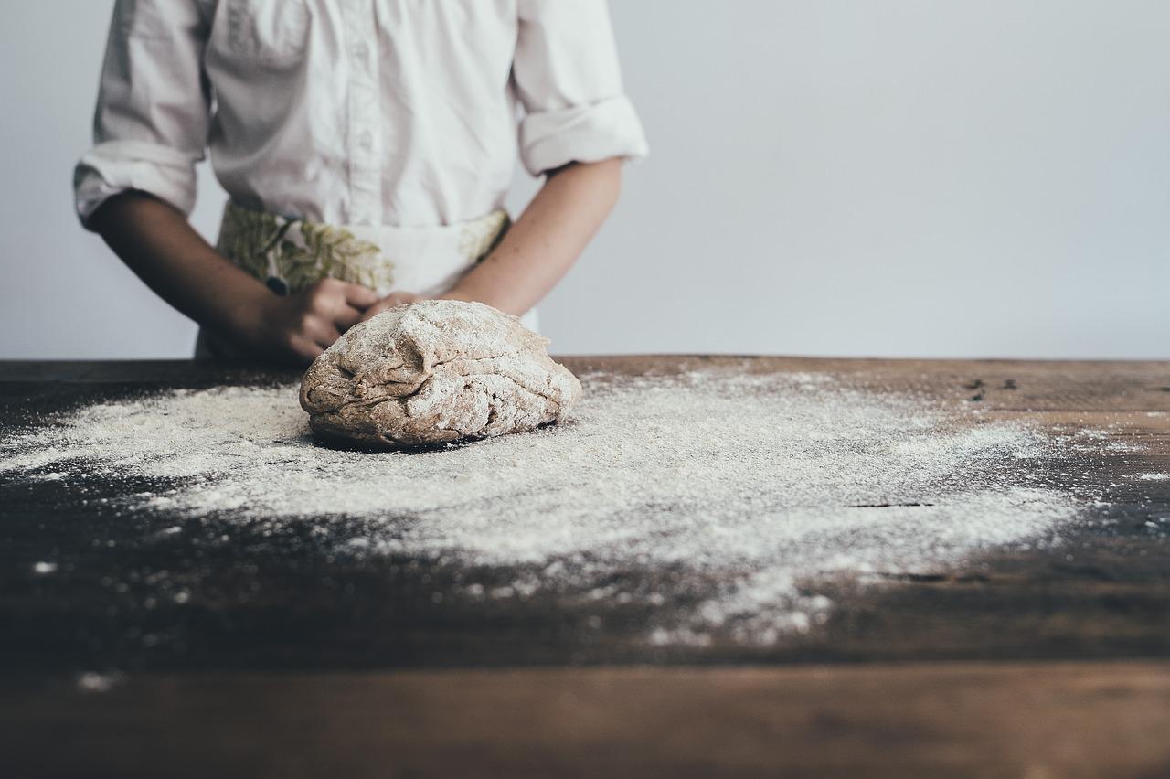 Chleb bezglutenowy z gumą guar