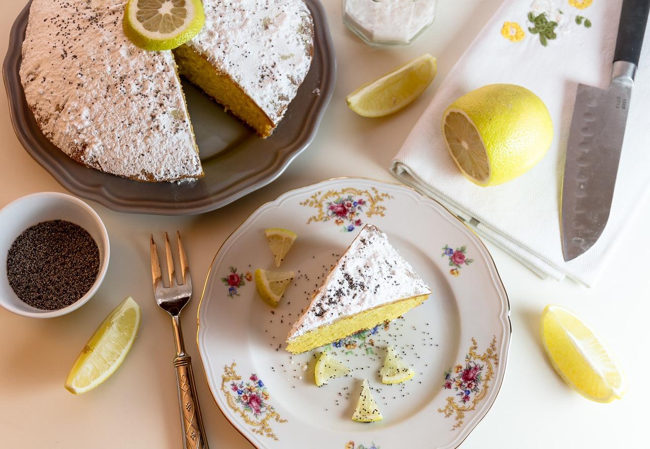 Ciasto mocno cytrynowe