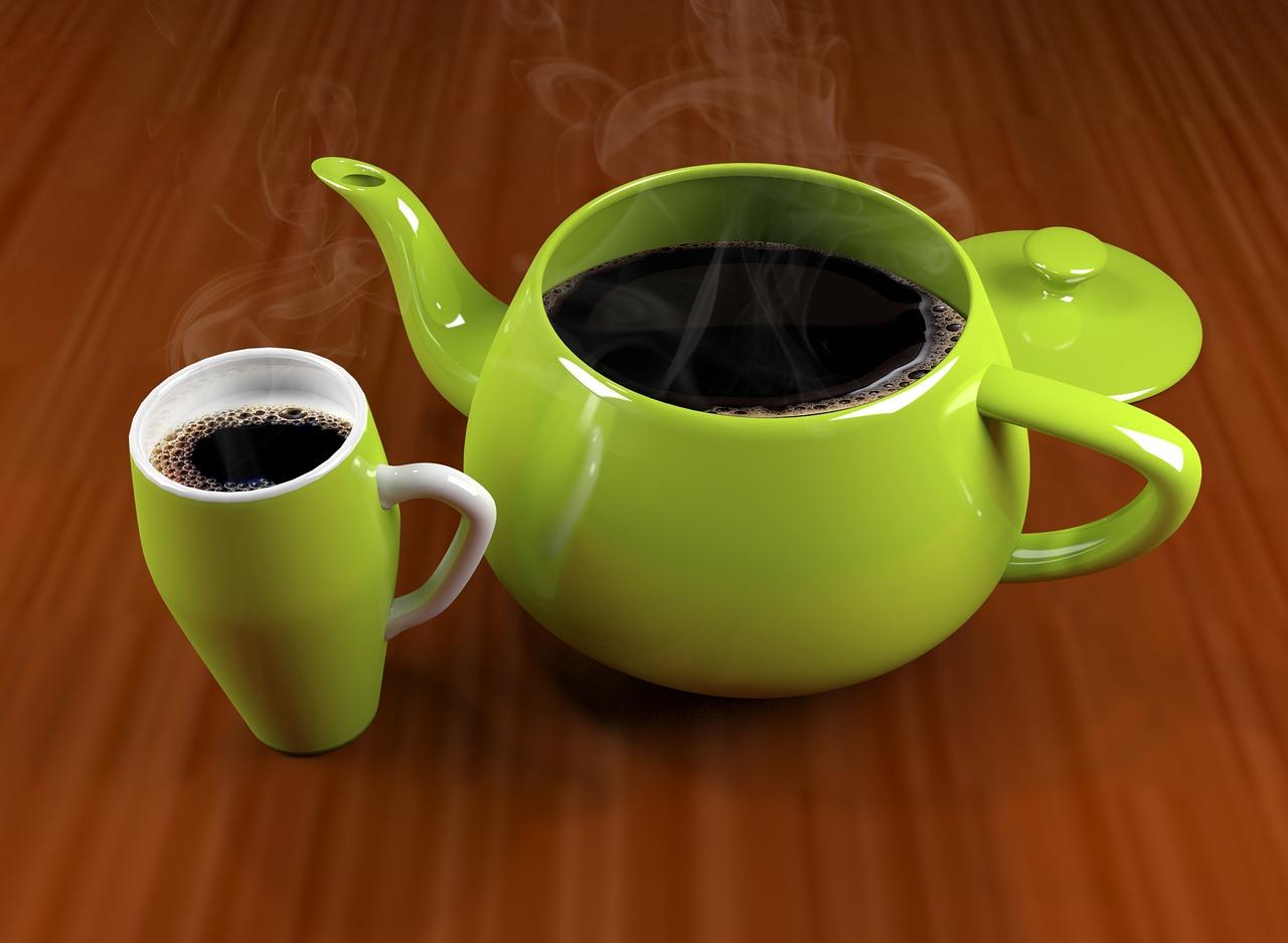 Zielona kawa z cynamonem