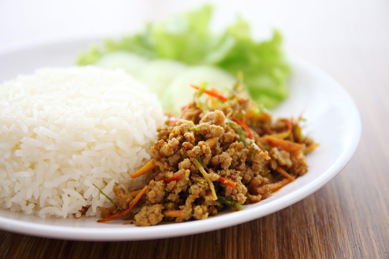 Curry z mięsa mielonego