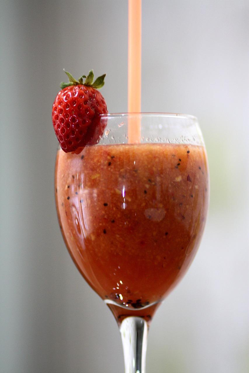 Pożywny koktajl z guaraną