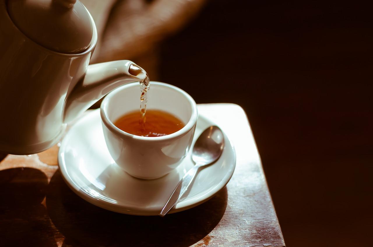 Herbata z sokiem z rokitnika