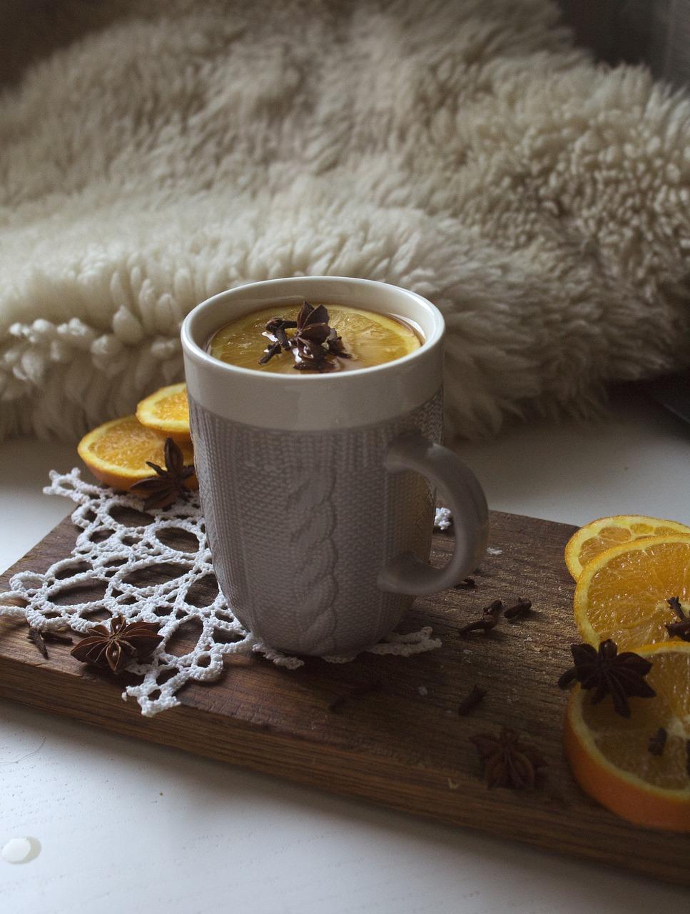 Aromatyczna herbata świąteczna