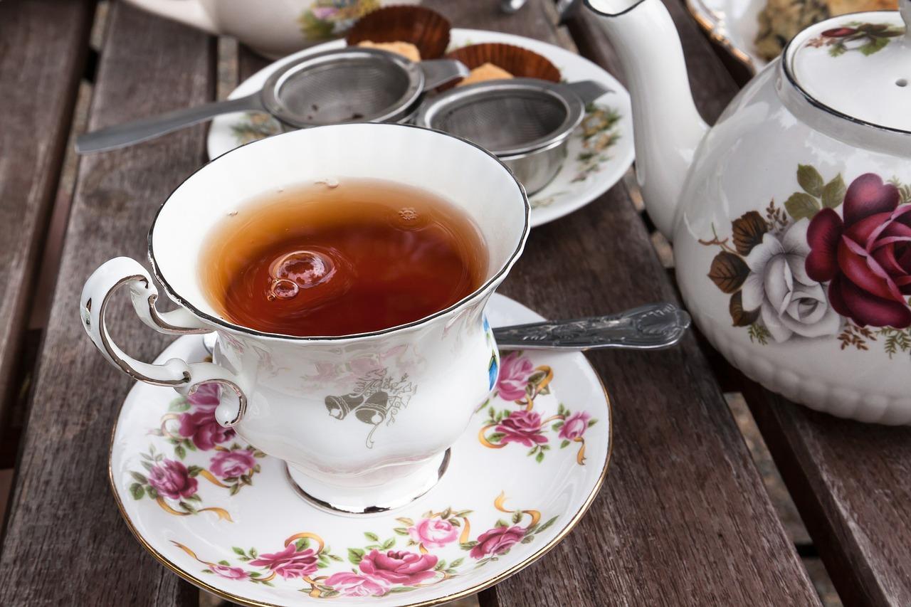 Herbata z sokiem z wiśni