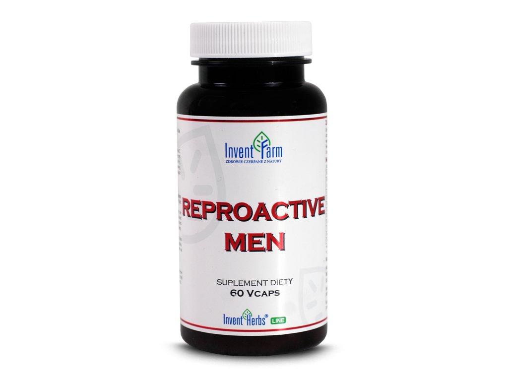 Reproactive men 60 kapsułek Invent Farm
