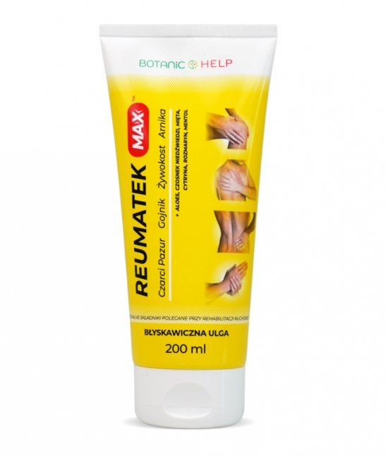 Reumatek MAX 200ml BotanicHelp