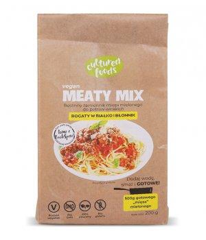 Roślinny zamiennik mięsa Meaty mix 200g Cultured