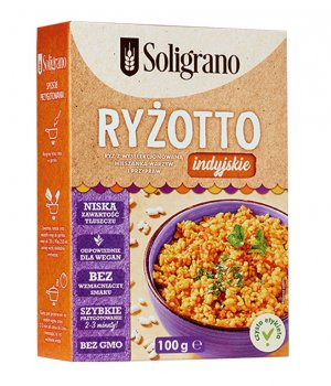 Ryżotto indyjskie 100g Soligrano