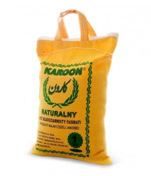 Ryż naturalny długoziarnisty basmati 1000g KAROON