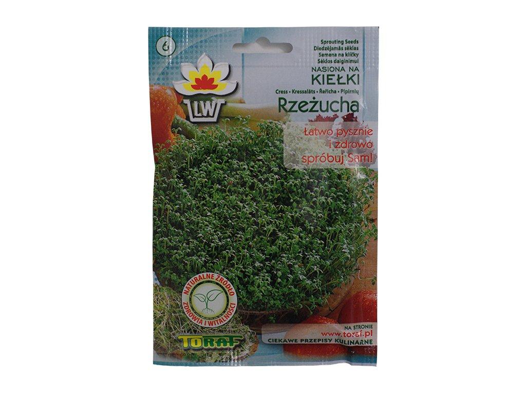 Rzeżucha nasiona na kiełki 30g TORAF