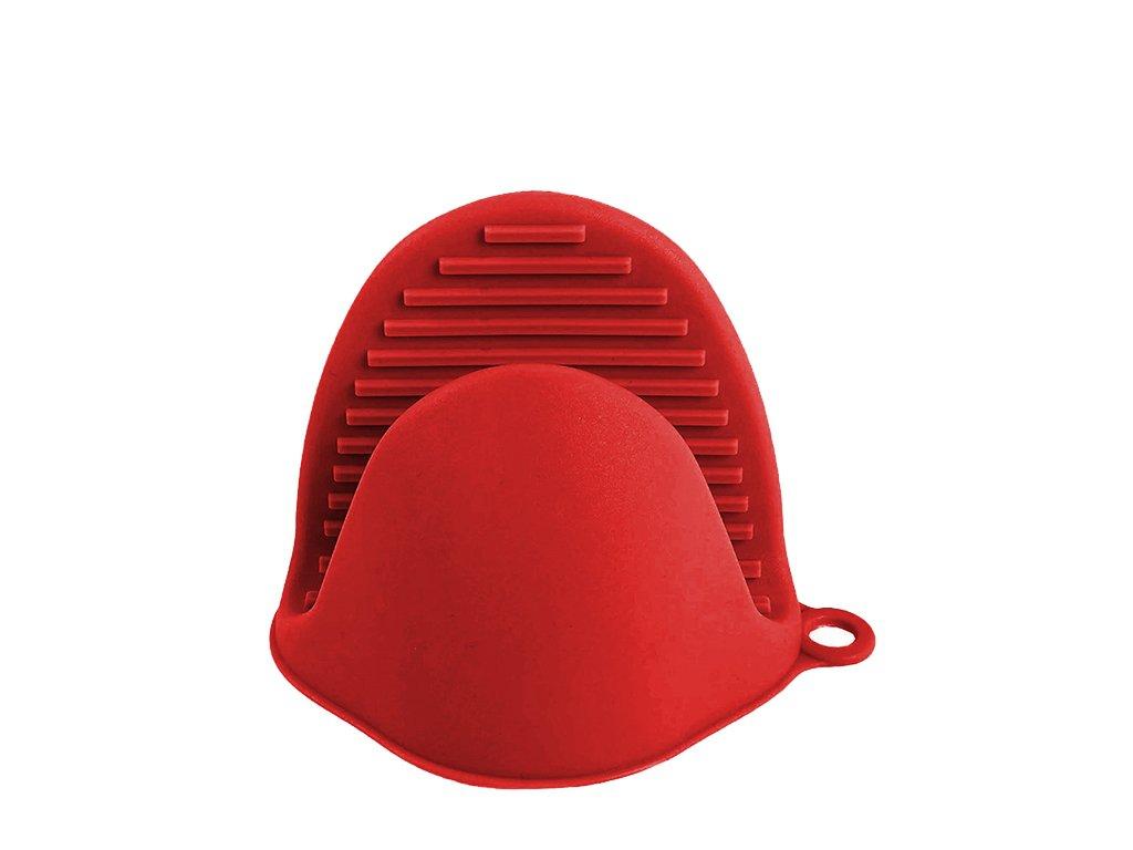 Silikonowe łapki kuchenne czerwone