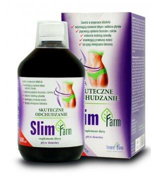 Slim farm 500ml, środek wspomagający odchudzanie