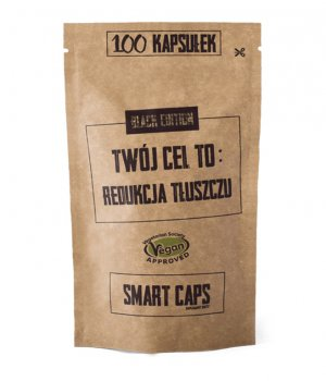 Smart caps - redukcja tłuszczu 100 kapsułek