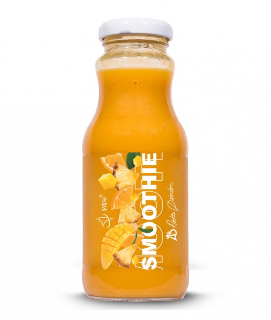 Smoothie pomarańczowe 250ml A.D + VIVIO