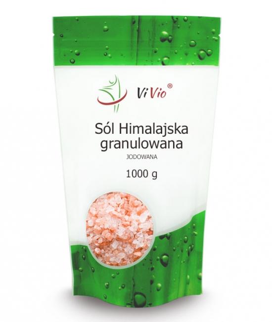 Sól himaljska granulowana właściwości