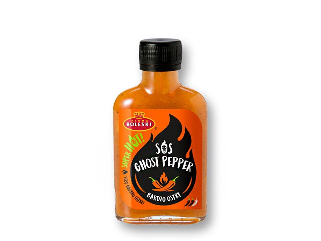 Sos Super Hot Ghost Pepper 115g Roleski