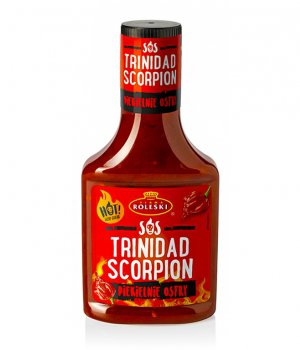 Sos ostry Trinidad Scorpion 340g Roleski