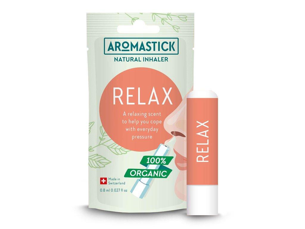 Aromastick naturalna aromaterapia sztyft do nosa Relax