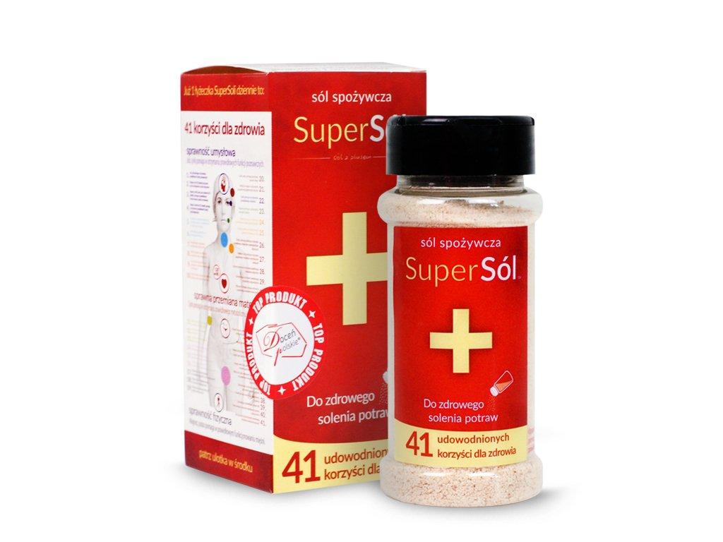 Sól spożywcza 100g SuperSól