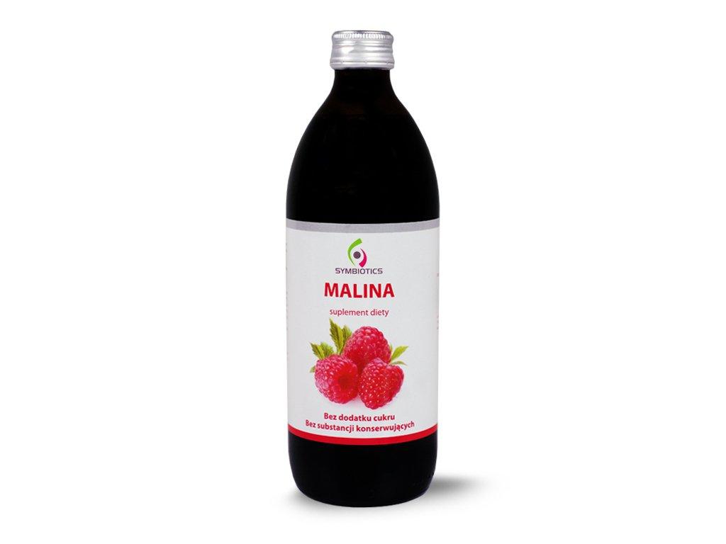 Sok malinowy naturalny 500ml SYMBIOTICS