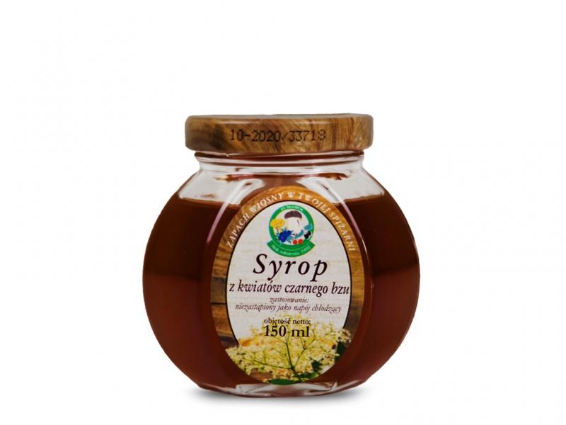 Syrop z bzu czarnego 150ml