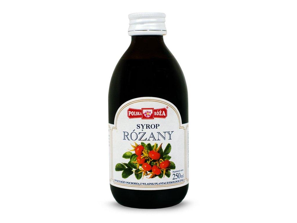Syrop Różany 250ml Polska-Róża