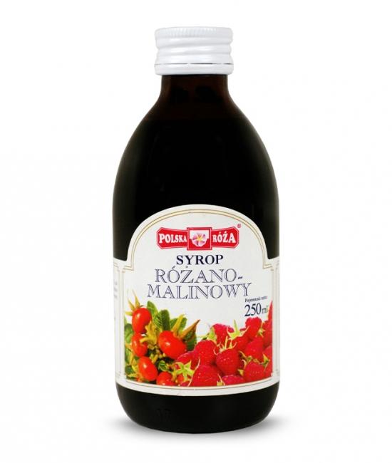 Syrop Różano-malinowy 250ml Polska-Róża