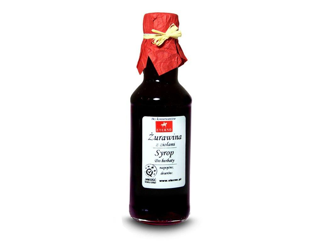 Syrop żurawinowy z ziołami cena, opinie, zastosowanie