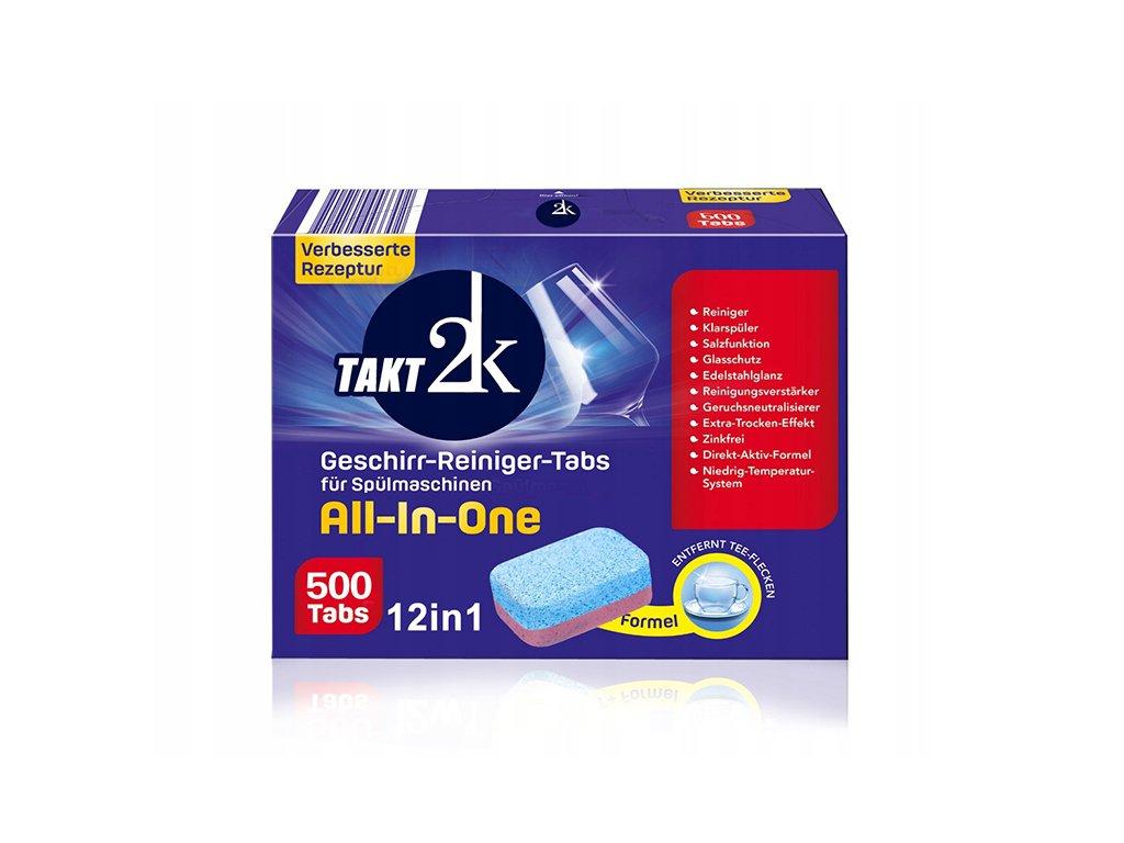 Tabletki do zmywarki NIEMIECKIE 500szt 20g