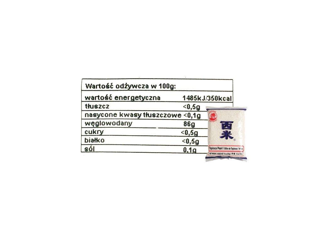 Tapioka perełki cena, tapioka zastosowanie, właściwości