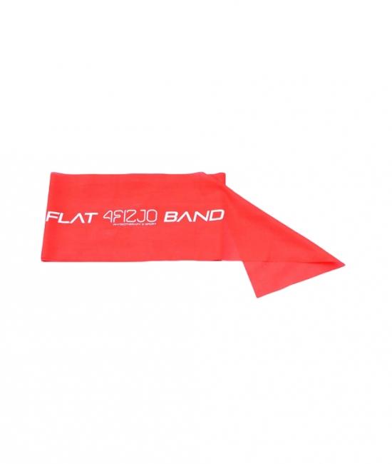 Taśma rehabilitacyjna Flat Band czerwona 0,2mm