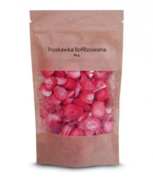 Truskawka liofilizowana plastry 50g
