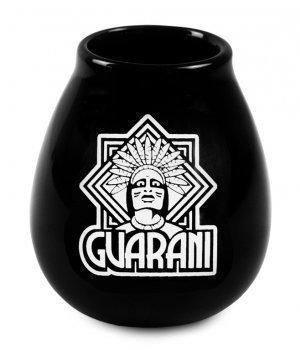 Tykwa Ceramiczna czarna Guarani 350ml