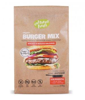Vegan Burger Mix roślinny 200g- Cultured Foods