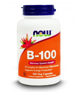 NOW - Vitamin B-100 100 kapsułek