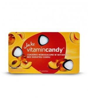 Cukierki witaminowe brzoskwinia 18g Jake VitaminCandy