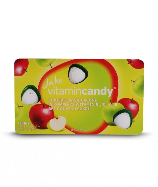 Cukierki witaminowe jabłka 18g Jake VitaminCandy