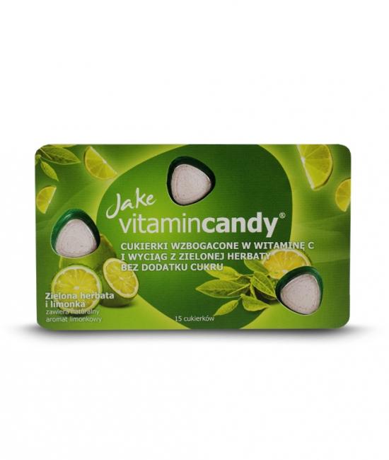 Cukierki witaminowe limonka 18g Jake VitaminCandy