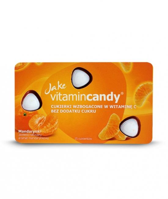 Cukierki witaminowe mandarynka 18g Jake VitaminCandy