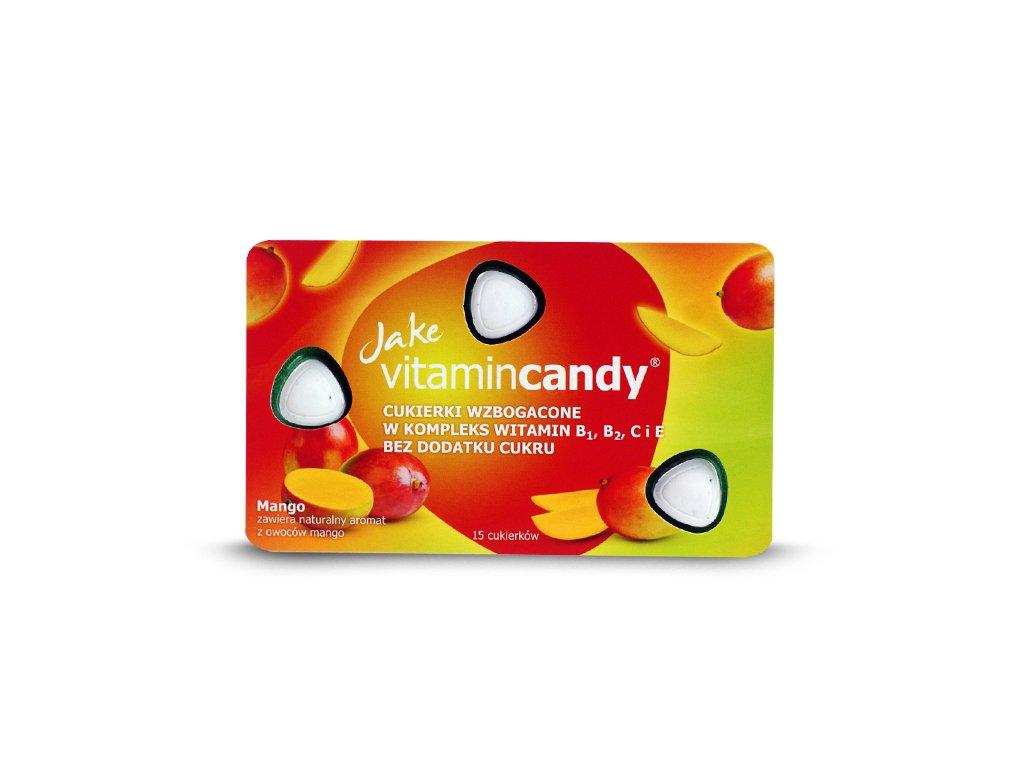 Cukierki witaminowe mango 18g Jake VitaminCandy