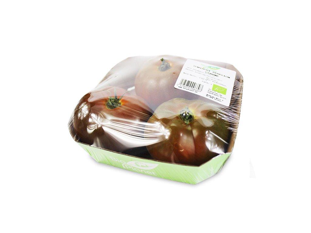 BIO pomidory czarne REBELLION śweże (około 0,6kg)