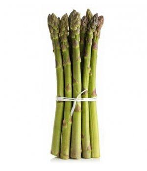 BIO szparagi zielone świeże (około 0,25kg)