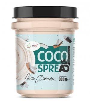 Krem kokosowy bez dodatku cukru 330g COCO SPREAD Anka Dziedzic VIVIO