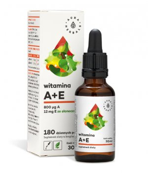 Witamina A+E krople 30ml