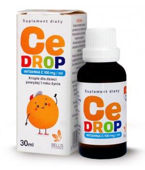 Witamina C krople dla dzieci powyżej 1 roku życia CeDROP 30ml
