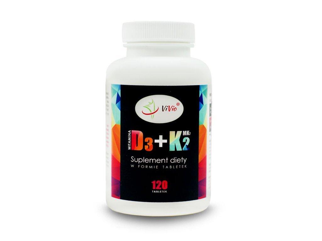 Witamina D3 K2Mk7 tabletki, właściwosci, cena, opinie