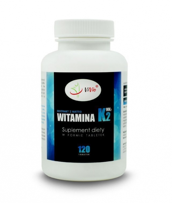 Witamina K, witamina k2 Mk7 tabletki, właściwosci,cena