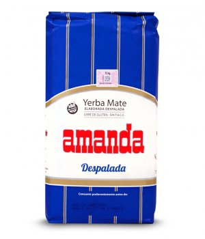 Yerba Mate Amanda Despalada Sin Palo 1000g